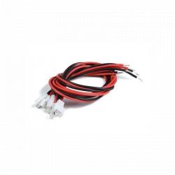 Set 5 Bucăți Conector Molex 2.0 Mamă cu 2 Pini și Cablu 200 mm x 24 AWG