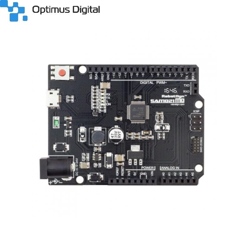 Samd m development board compatible with arduino zero