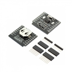 WIFI D1 mini - shield RTC DS1307  (Real Time Clock) with battery