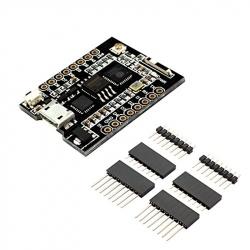 Placă de Dezvoltare WiFi D1 Mini cu ESP8266, Convertor USB-UART CH340 (Memorie Flash 8Mb)