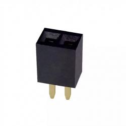 2p Female Pin Header 2.54 mm