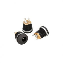 DC Power Jack for Case (5.5 mm hole, 2.1 mm pin)