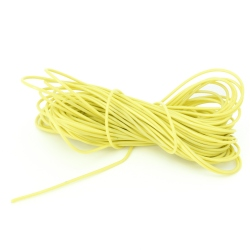 1 mm Yellow Wire (price per 1 meter)