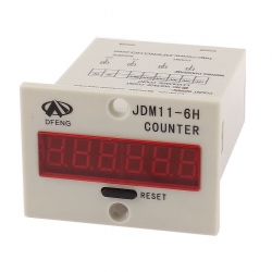 Counter tip no voltage JDM11-6H, alimentare 220VAC