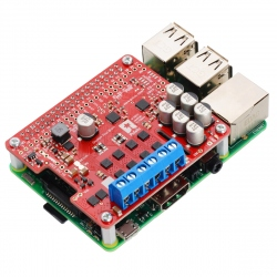 Pololu Dual G2 High-Power Motor Driver 24v14 for Raspberry Pi (Assembled)