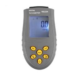 Handheld LCD Digital Laser Tachometer RPM Test Small Engine Motor Speed Gauge