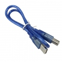 1.5 m USB AM to BM Blue Cable for ARDUINO MEGA and UNO