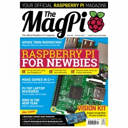 Official Raspberry Pi - MagPi No 64 Magazine