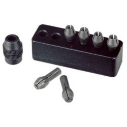 Proxxon 28940: MICROMOT steel collet set