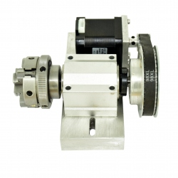 Bloc cu a 4-a Axă pentru CNC în Miniatură