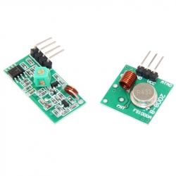 433 MHz Receiver Transmitter Pair