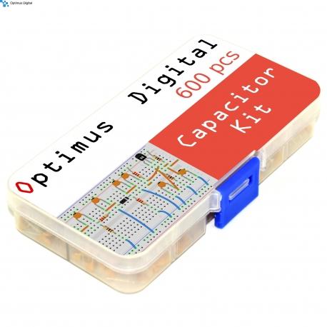 Optimus Digital Ceramic Capacitor Assortment Kit (600PCS)