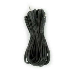 3.5 mm stereo audio cable, 10 m