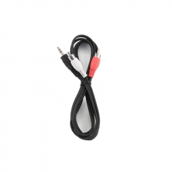 3.5 mm Stereo to RCA Plug Cable, 1.5 m