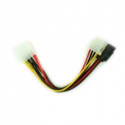 Molex Female to Molex Male + Serial ATA Power Cable