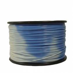 Temperature Changing Filament 1.75 mm 1 kg (Blue to White)