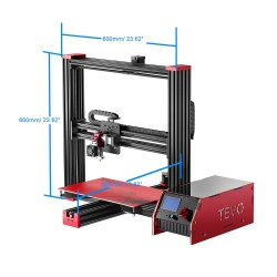 Black Widow 3D Printer with Auto Leveling