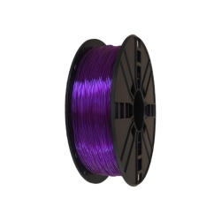 3D Flexible Filament 1.75 mm TPU 1 kg - Purple