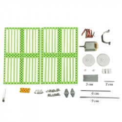 Tension Generator KIT With Crank And Leds