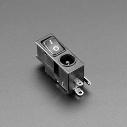 Mufa jack DC mama 2.1mm cu intrerupator