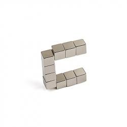N35 CUBE NEODYMIUM MAGNET 10 X 10 X 10MM