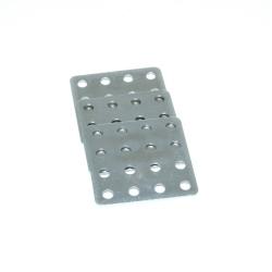 Placă Pătrată Metalică  de Prindere 20x20 mm