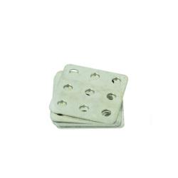 Placă Pătrată Metalică de Prindere 15x15 mm