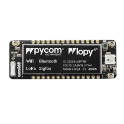 LoPy 1.0 Development Board With LoRa ( up to 40 km ), WiFi And Bluetooth