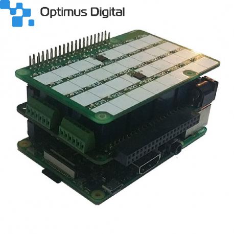 LED-Card for Mega-IO and Rpi 3 / Zero