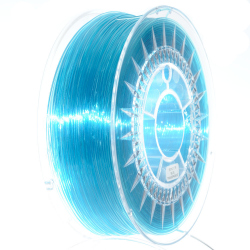 Devil Design PET-G Filament - Blue Transparent 1 kg, 1.75 mm