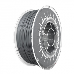 Devil Design PLA Filament - Aluminium Colored 1 kg, 1.75 mm
