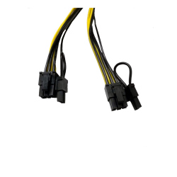 PCI EXPRESS 6 pin to 2 x 8 PINI F-M Cable - 25cm