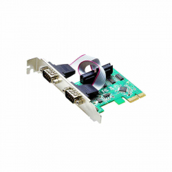 PCI Express to RS232 Serial Expansion Card (2 ports)