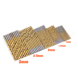 HSS4241 Mini Drill Bit Set 1 - 3 mm (50 pcs)