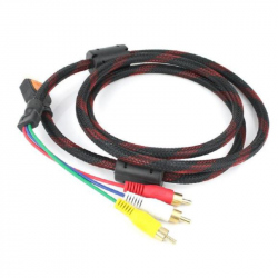 HD to 3 RCA Cable - 1.5m