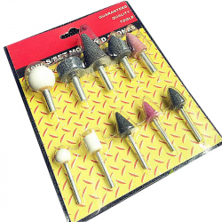 6 mm Grinding Tools Set (10 pcs)