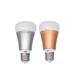 Sonoff B1: Dimmable E27 LED Lamp RGB Color Light Bulb, Color: Gold