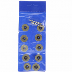 16 mm Diamond Discs for Cutting and Grinding (10 pcs)