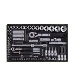 PROXXON 23640 Socket Spanner Set 1 / 4 inch 1 / 2 Inch Ratchet 86tg