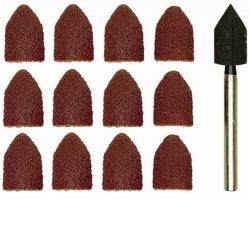 Proxxon 28987 Sanding Drum with 10 Sanding Caps