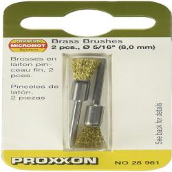 Proxxon 28961 Brass Brushes, 5/16-Inch, 2-Piece