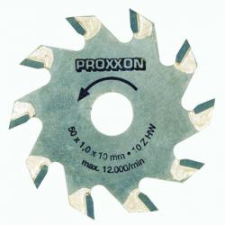Proxxon 28016 Tungsten tipped saw blade 50mm Ø x 1.1mm (10mm bore) 10 teeth