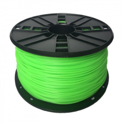 TPE flexible filament Green,  1.75 mm, 1 kg