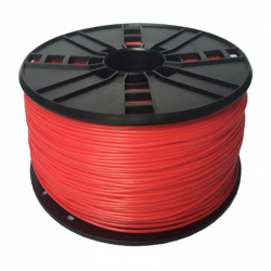 TPE flexible filament Red, 1.75 mm, 1 kg