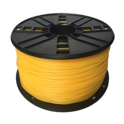 TPE flexible filament Yellow, 1.75 mm, 1 kg