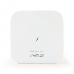 Wireless Qi charger, 5 W, square, white
