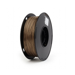 PLA Filament Copper, 1.75 mm, 1 kg (copper  color metal filling composition)