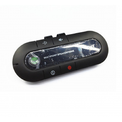 Auto Car Kit Wireless Bluetooth Speakerphone Speaker Hands Free Phone Visor Clip
