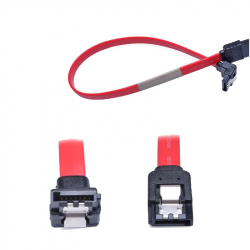 Cable for harddisk - 90 angle - 31cm - Red