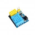 DHT11 Temperature and Humidity Sensor Board for ESP-01 and ESP-01S ESP8266 Modules